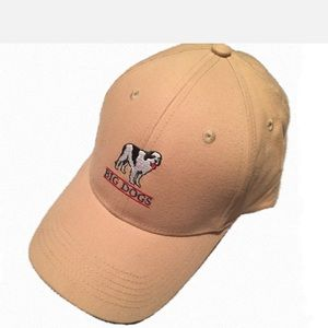 Men's Big Dogs Khaki SnapBack Hat
